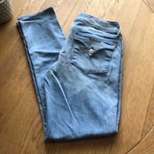 Hudson Jeans Collin Flap Skinny Light Wash Size 30